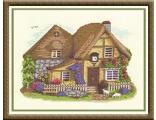 """Оригинал - Схема вышивки  """"Домик в деревне """" - Схемы автора  """"lavrentevaalla """" - Вышивка крестом."""