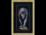 40*18 размер, состав набора: канва Zweigart 14 чёрная, мулине Madeira, японская гобеленовая игла, инструкция, схема.